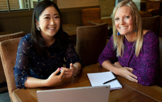 Cover Image-Mentor Eriko and Mentee Rebekah