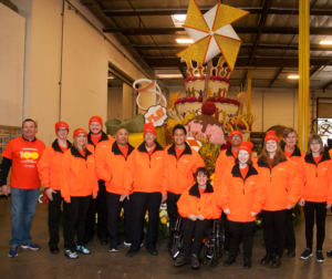 ESSC CEO Mark Whitley poses with Easterseals Float Riders